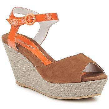 Topánky Ženy Sandále Regard RAFATI Ťavia hnedá