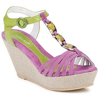 Topánky Ženy Sandále Regard RAFAZA Violin / Zelená