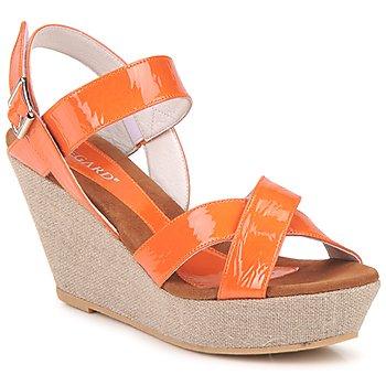 Topánky Ženy Sandále Regard RAGA Oranžová