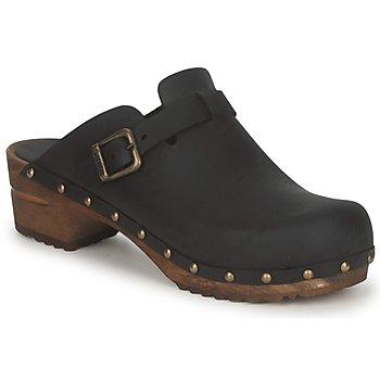 Topánky Ženy Nazuvky Sanita KRISTEL OPEN čierna