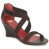 Topánky Ženy Sandále Vialis NIVEL Hnedá