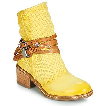 Topánky Ženy Polokozačky Airstep / A.S.98 WINNIE STRAP Žltá