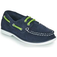 Topánky Deti Námornícke mokasíny Timberland SEABURY CLASSIC 2EYE BOAT Čierna
