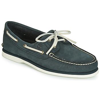 Topánky Muži Námornícke mokasíny Timberland CLASSIC BOAT 2 EYE Šedá
