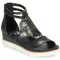 Topánky Ženy Sandále Mjus TAPASITA Čierna / Metalická