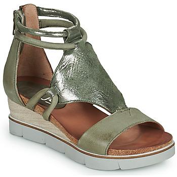 Topánky Ženy Sandále Mjus TAPASITA Kaki