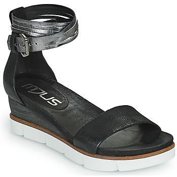 Topánky Ženy Sandále Mjus TAPASITA Čierna / Strieborná