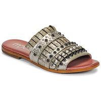 Topánky Ženy Šľapky Mjus CHAT MULE Kaki / Metalická