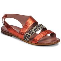 Topánky Ženy Sandále Mjus CHAT BUCKLE Červená / Leopard