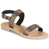 Topánky Ženy Sandále Betty London JADALETTE Bronzová