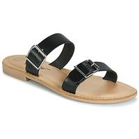 Topánky Ženy Šľapky Betty London JADALEBE Čierna