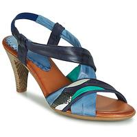 Topánky Ženy Sandále Betty London POULOI Modrá / Zelená