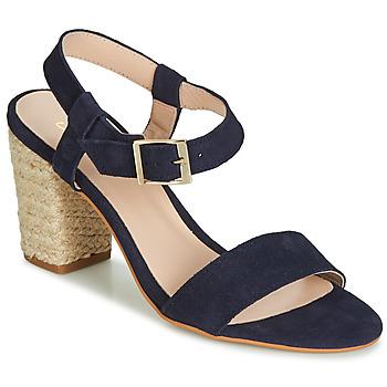 Topánky Ženy Sandále Betty London JIKOTIFE Námornícka modrá