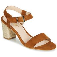 Topánky Ženy Sandále Betty London JIKOTIFE Ťavia hnedá