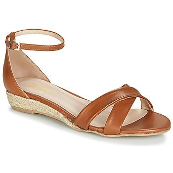 Topánky Ženy Sandále Betty London JIKOTIVE Ťavia hnedá
