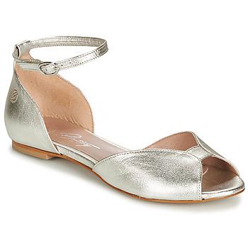 Topánky Ženy Sandále Betty London INALI Strieborná