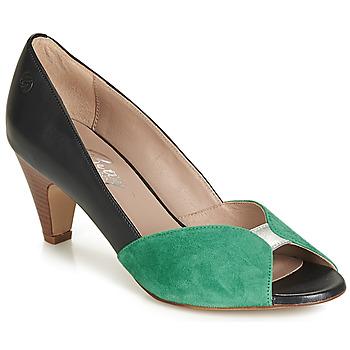 Topánky Ženy Lodičky Betty London JIKOTIZE Čierna / Zelená