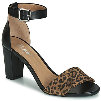 Topánky Ženy Sandále Betty London CRETOLIA Čierna