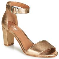 Topánky Ženy Sandále Betty London CRETOLIA Zlatá