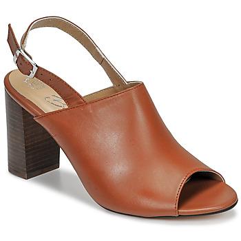 Topánky Ženy Sandále Betty London JIKOTEGE Ťavia hnedá
