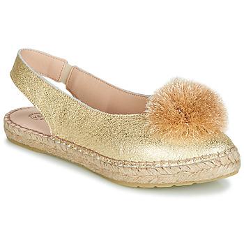 Topánky Ženy Balerínky a babies Betty London JIKOTI Zlatá