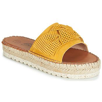 Topánky Ženy Šľapky Betty London JIKOTIGE Žltá