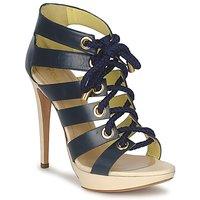 Topánky Ženy Sandále Pollini PA1609CC1V Modrá