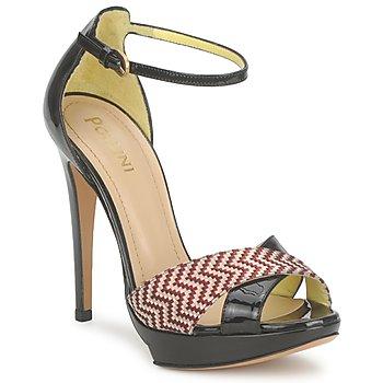 Topánky Ženy Sandále Pollini PA1638CC1V červená