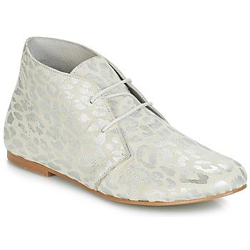 Topánky Ženy Polokozačky Ippon Vintage HYP ARY Biela / Strieborná