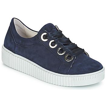 Topánky Ženy Nízke tenisky Gabor POMPON Námornícka modrá