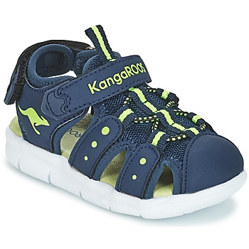 Topánky Deti Sandále Kangaroos K-MINI Námornícka modrá / Žltá