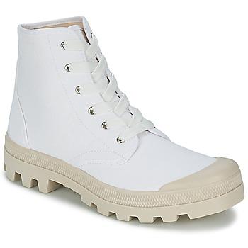 Topánky Muži Členkové tenisky Casual Attitude MADIMA Biela