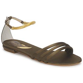 Topánky Ženy Sandále Etro 3461 Vojenská zelená