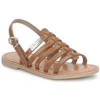 Topánky Dievčatá Sandále Les Tropéziennes par M Belarbi MANGUE Svetlá hnedá
