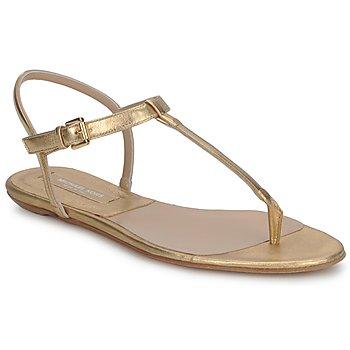 Topánky Ženy Sandále Michael Kors MK18017 Zlatá