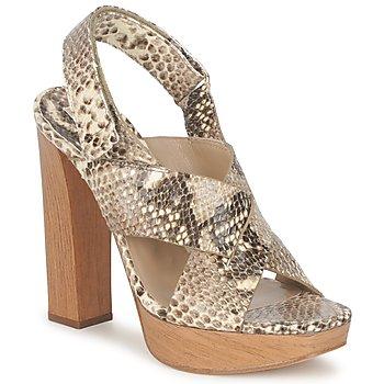 Topánky Ženy Sandále Michael Kors MK18072 Hadí vzor