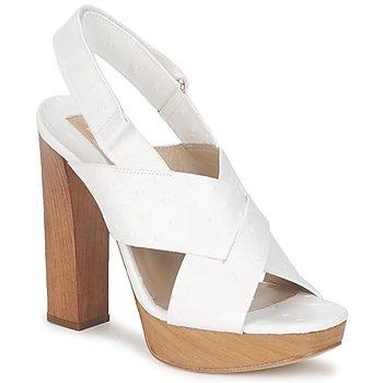 Topánky Ženy Sandále Michael Kors MK18072 Biela