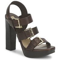 Topánky Ženy Sandále Michael Kors MK18071 Čiernohnedá kávová