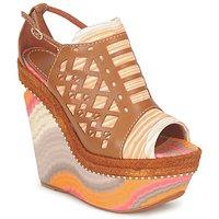 Topánky Ženy Sandále Missoni TM22 Hnedá / Oranžová
