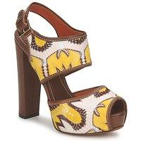 Topánky Ženy Sandále Missoni TM81 Hnedá / Béžová / Žltá