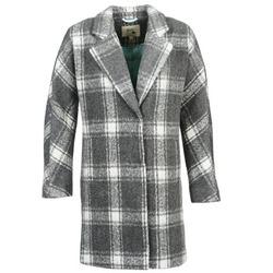 Oblečenie Ženy Kabáty Yumi EHIME Biela / Šedá