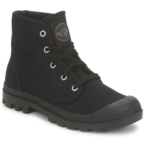 Topánky Ženy Polokozačky Palladium US PAMPA HI Čierna