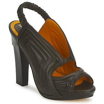 Topánky Ženy Sandále Karine Arabian ORPHEE Čierna
