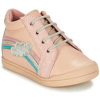 Topánky Dievčatá Polokozačky André ONDEE Ružová