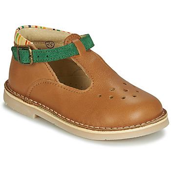 Topánky Chlapci Sandále André SUNSET Ťavia hnedá