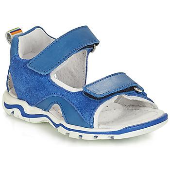 Topánky Chlapci Sandále André PLANCTON Modrá