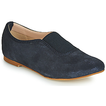 Topánky Dievčatá Mokasíny André MALAGA Námornícka modrá