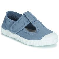 Topánky Dievčatá Sandále André NAVIRE Modrá