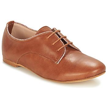 Topánky Chlapci Derbie André COMPLICITE Ťavia hnedá