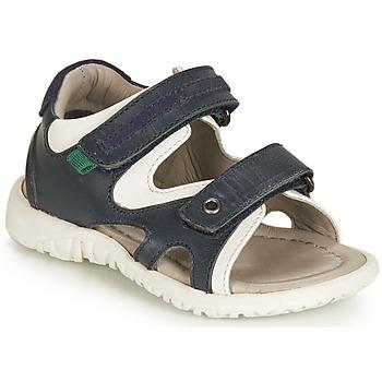Topánky Chlapci Sandále André HAMAC Námornícka modrá